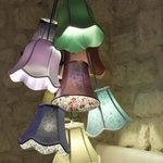 eclectic lampshade light