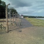Fence around the concentration camp