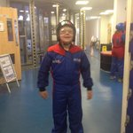 Alfie ready to fly