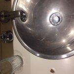 Annex bathroom :( tiny and needs work