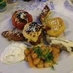 Greek mixed plate