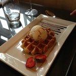 Waffle & Honeycomb ice cream