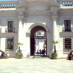 Palácio la Moneda, bem próximo ao hotel
