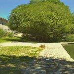 Acceso directo y gratuito a playa fluvial y aguas termales
