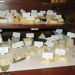 The famous cheese trolley