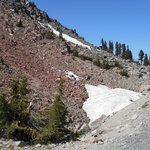 Snow at the Summit- July 3, 2014