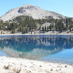 Beautiful mountain reflection