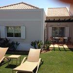 One bedroom villa private garden