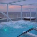 Impresionante Jacuzzi con vistas al mar