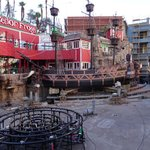 Renovating the pirate ship pond