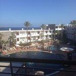 side sea view, room 566