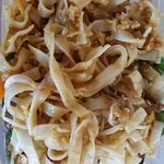 Seafood pad Thai take out