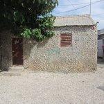 Huisje van schelpen