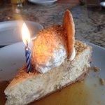 Happy birthday!  Banana pudding cheesecake