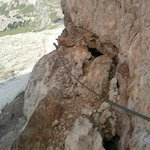 3 cime Lavaredo: ferrata gallerie Prima Guerra Mondiale