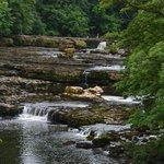 Upper Falls-walking on water