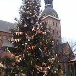 julemarked på Domkirkeplassen