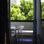 Balcon vue sur piscine