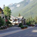 Central Banff