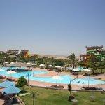 Une vue de l'aqua park
