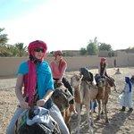 Camino al campamento bereber