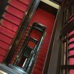 старый лестничный холл