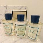 requisite hotel shampoo. conditioner, bodywash