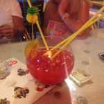 Curly's Cocktail Fish Bowl...