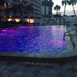 Great nighttime swimming.