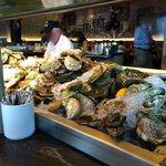 Bar à huîtres divin!