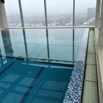 view from the 24th floor swimming pool