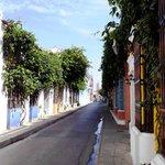 Calle del la ciudad amurallada