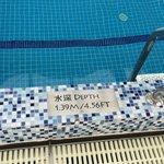 24th floor swimming pool