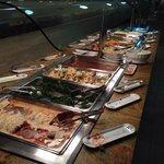 4 foto cena- canelones, espinacas, zanahorias, carne, pescado, patatas.....)