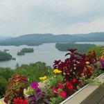 View of Blue Mountain Lake