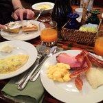 Boma breakfast- love the Jamba Juice