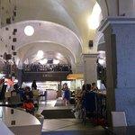 Budapest - Oktogon Bisztro - vaulted ceiling