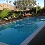 Pristine pool area