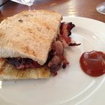 Bacon Sandwich goodness from St. John--try it with the ketchup!