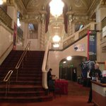 lobby leading to grand staircase