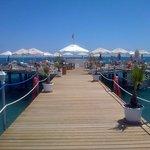 The beautiful promenade ������