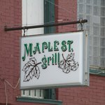 Buffalo MO Maple St Grill Sign
