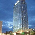 L'hotel visto da Alexanderplatz