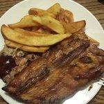 Pulled Pork & 1/2 rack