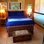 bedroom in upstairs suite