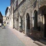 The walk back to Casa Papa Giovani.