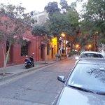 Streets of Lastarria