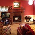 Cozy living room at the Inn