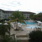 Vista da recepção da piscina 1