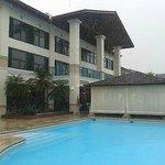 Vista do Hotel da piscina 2